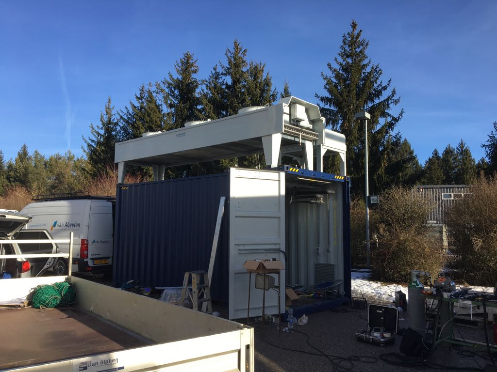 Unifreezing project Van Abeelen