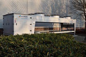 Koudwatermachine Van Abeelen - klimaatinstallatie