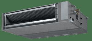 Kanaal- of satellietmodel airco